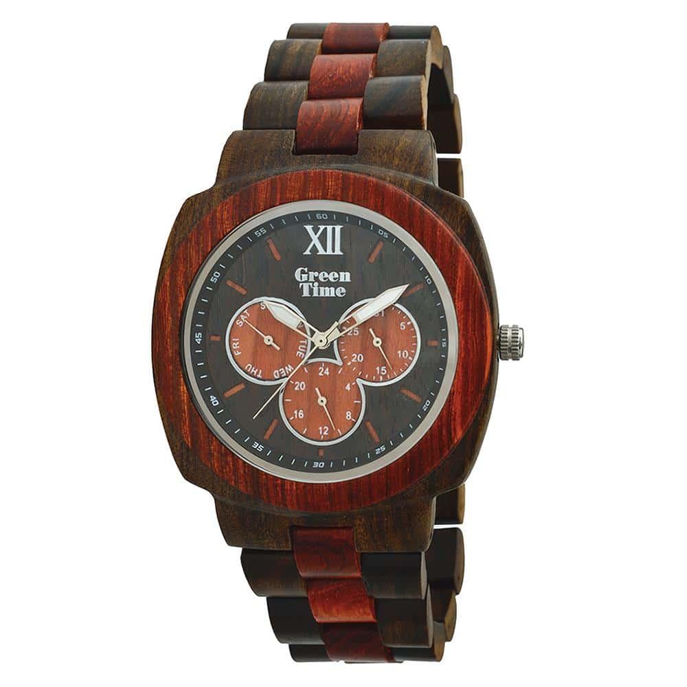 Stoere houten horloges ZW049B
