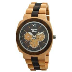 Stoere houten horloges ZW049C
