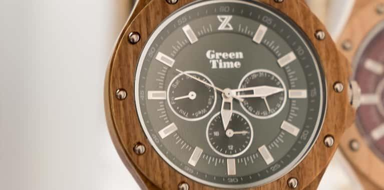 Houten horloges van GreenTime